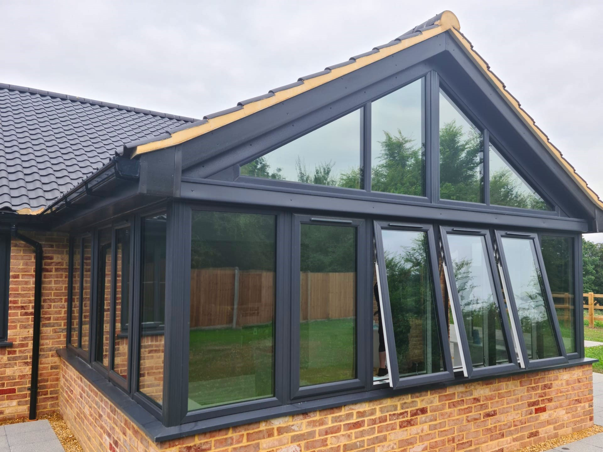 Conservatory Glass Tinting